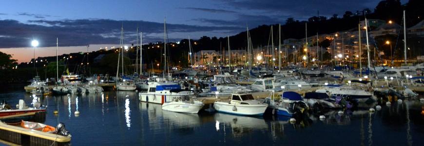 Port de plaisance en Guadeloupe