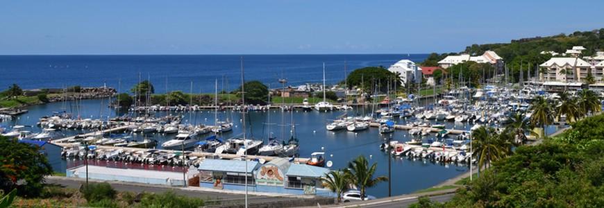 Port de plaisance de Basse Terre Guadeloupe